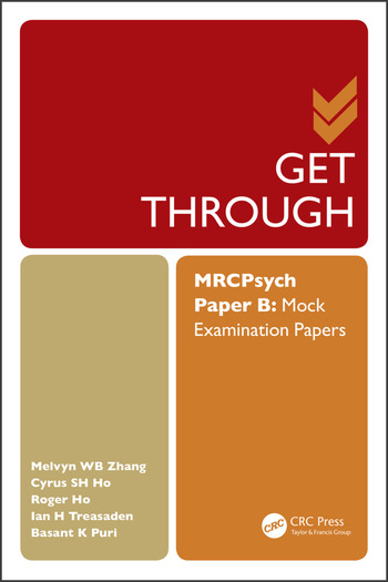 Get Through MRCPsych Paper B Mock Examination Papers book cover
