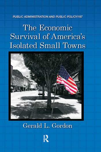 The Economic Survival of America's Isolated Small Towns book cover