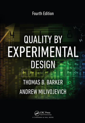 Quality by Experimental Design, Fourth Edition book cover