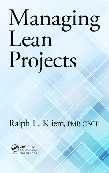 Managing Lean Projects book cover
