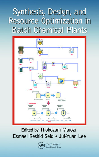 Synthesis, Design, and Resource Optimization in Batch Chemical Plants book cover
