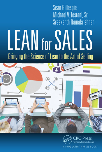 Lean for Sales Bringing the Science of Lean to the Art of Selling book cover