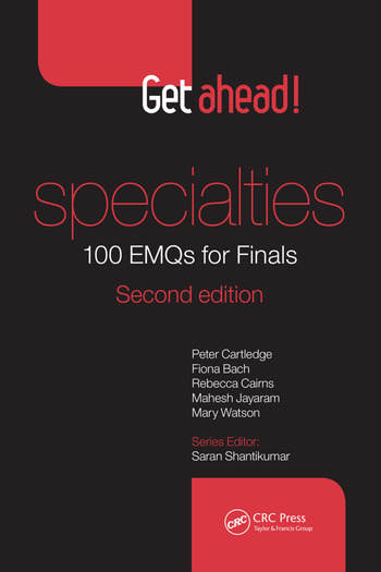 Get ahead! Specialties: 100 EMQs for Finals book cover