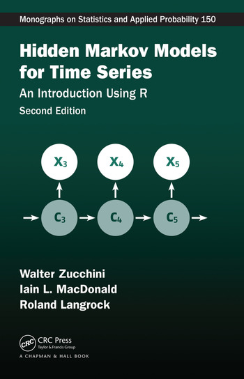 Hidden Markov Models for Time Series An Introduction Using R, Second Edition book cover
