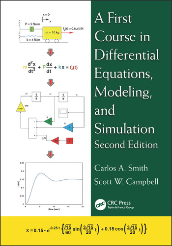 A First Course in Differential Equations, Modeling, and Simulation book cover