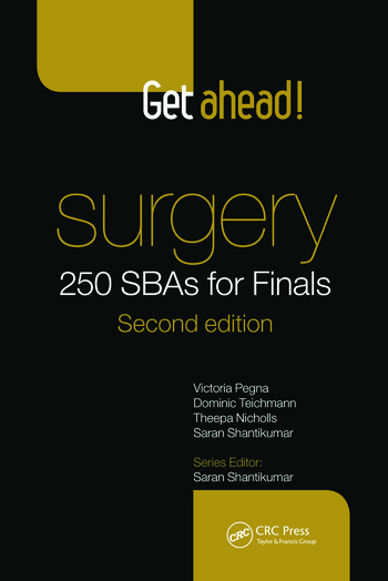 Get Ahead! Surgery: 250 SBAs for Finals book cover