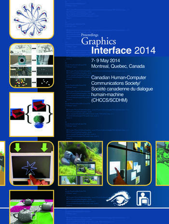 Graphics Interface 2014 book cover