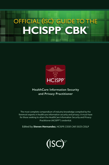 Official (ISC)2 Guide to the HCISPP CBK book cover