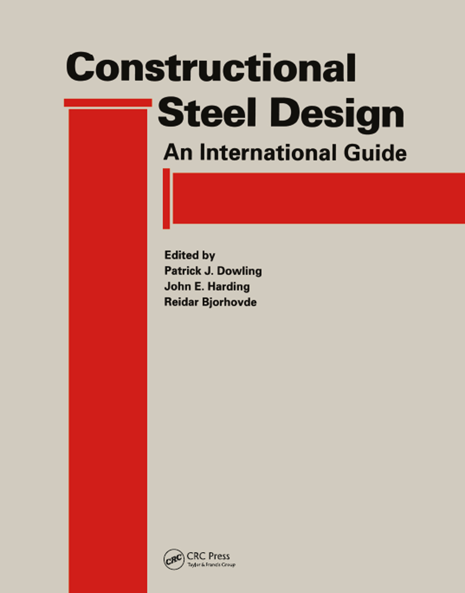 Constructional Steel Design An international guide book cover