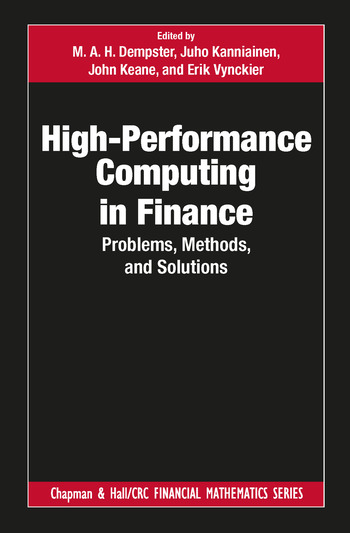 High-Performance Computing in Finance Problems, Methods, and Solutions book cover