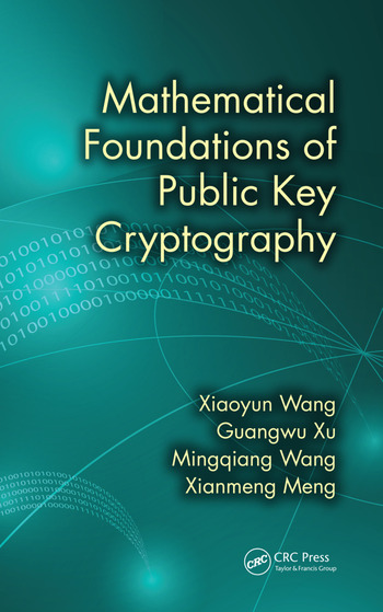 Mathematical Foundations of Public Key Cryptography book cover