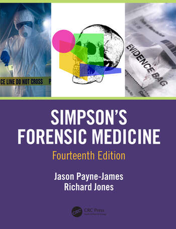 Simpson's Forensic Medicine, 14th Edition book cover