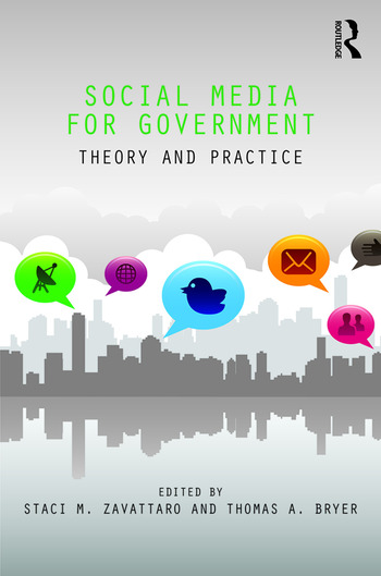 Social Media for Government Theory and Practice book cover