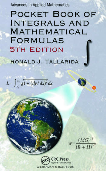 Pocket Book of Integrals and Mathematical Formulas book cover