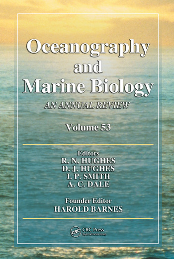 Oceanography and Marine Biology An Annual Review, Volume 53 book cover