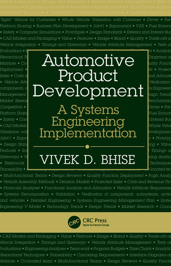 Automotive Product Development A Systems Engineering Implementation book cover