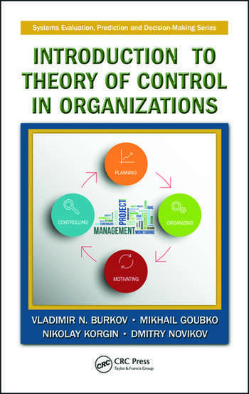 Introduction to Theory of Control in Organizations book cover
