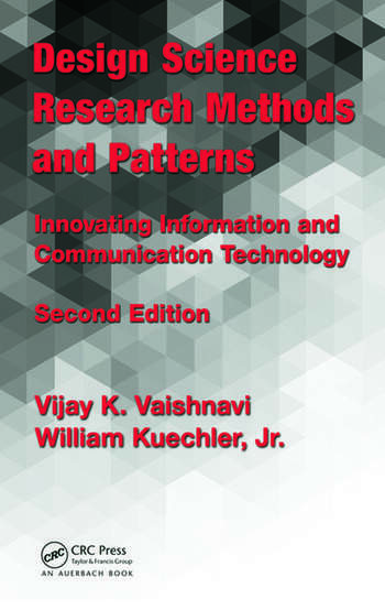 Design Science Research Methods and Patterns Innovating Information and Communication Technology, 2nd Edition book cover