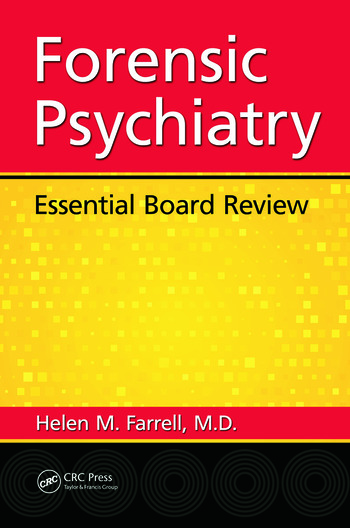 Forensic Psychiatry Essential Board Review book cover
