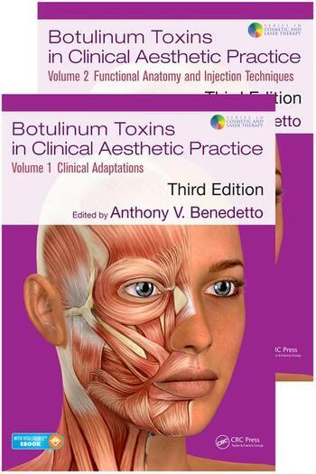 Botulinum Toxins in Clinical Aesthetic Practice 3E Two Volume Set book cover