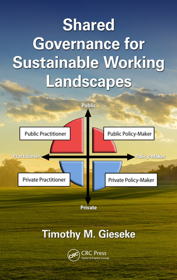 Shared Governance for Sustainable Working Landscapes book cover