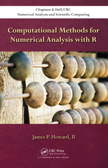 Computational Methods for Numerical Analysis with R book cover