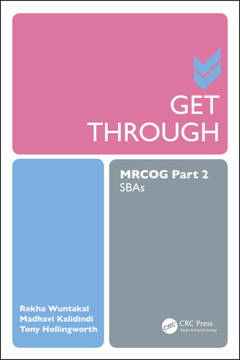 Get Through MRCOG Part 2 SBAs book cover