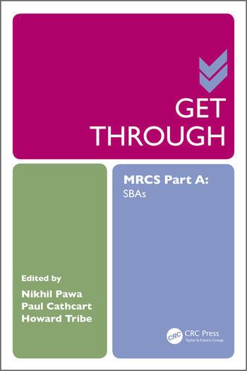 Get Through MRCS Part A SBAs book cover