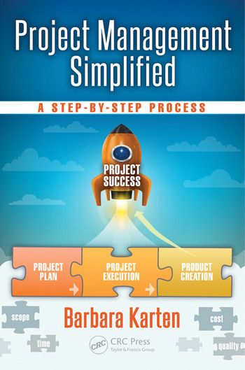 Project Management Simplified A Step-by-Step Process book cover
