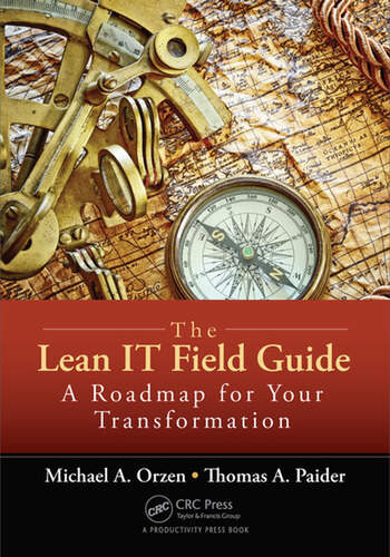 The Lean IT Field Guide A Roadmap for Your Transformation book cover
