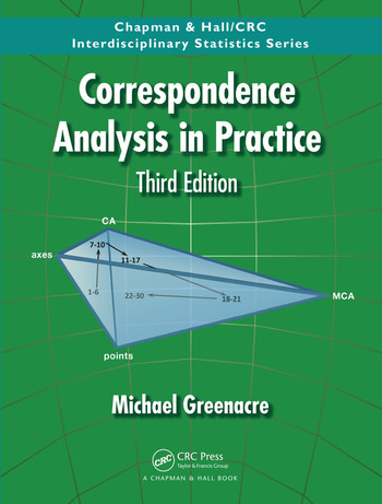 Correspondence Analysis in Practice, Third Edition book cover