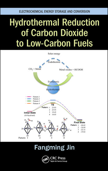 Hydrothermal Reduction of Carbon Dioxide to Low-Carbon Fuels book cover