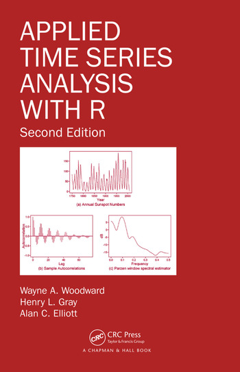 Applied Time Series Analysis with R, Second Edition book cover