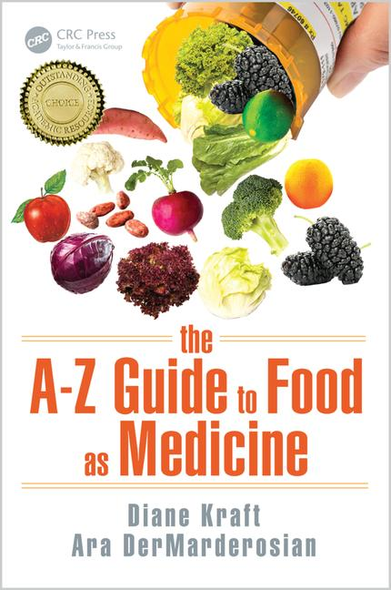 Food Book Cover Jobs : The a z guide to food as medicine crc press book