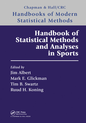 Handbook of statistical methods and analyses in sports crc press book handbook of statistical methods and analyses in sports book cover publicscrutiny Gallery