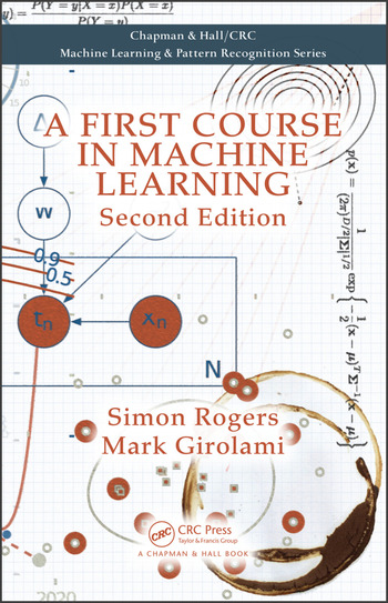 A First Course in Machine Learning book cover