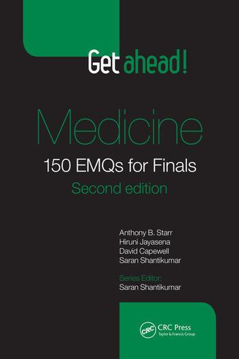 Get ahead! Medicine 150 EMQs for Finals, Second Edition book cover