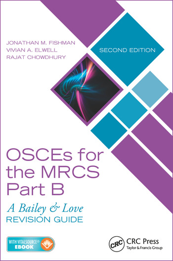 OSCEs for the MRCS Part B A Bailey & Love Revision Guide, Second Edition book cover
