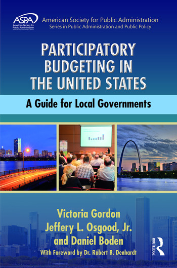 Participatory Budgeting in the United States A Guide for Local Governments book cover