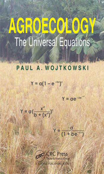 Agroecology The Universal Equations book cover