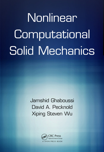 Nonlinear Computational Solid Mechanics book cover
