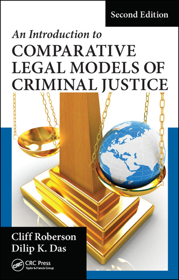 An Introduction to Comparative Legal Models of Criminal Justice book cover
