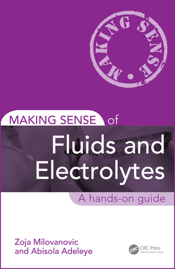 Making Sense of Fluids and Electrolytes A hands-on guide book cover