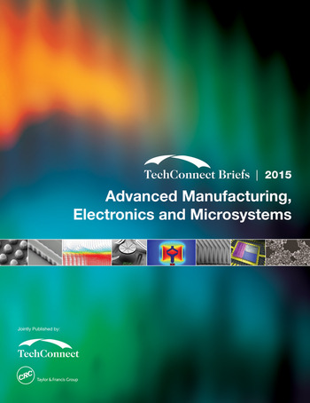 Advanced Manufacturing, Electronics and Microsystems TechConnect Briefs 2015 book cover