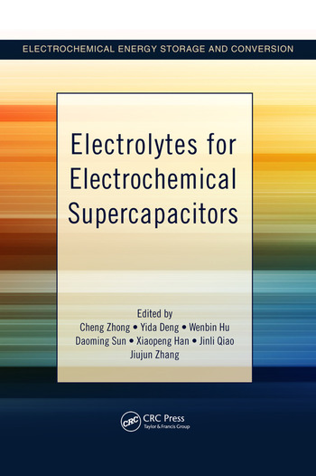 Electrolytes for Electrochemical Supercapacitors book cover