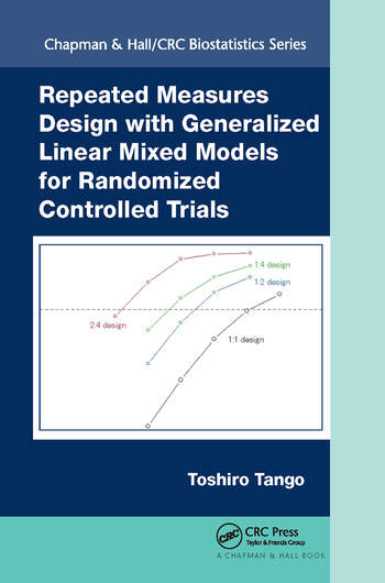 Repeated Measures Design with Generalized Linear Mixed Models for Randomized Controlled Trials book cover