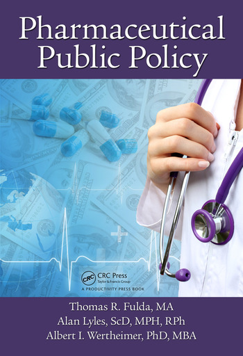 Pharmaceutical Public Policy book cover