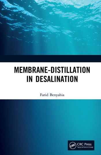 Membrane-Distillation in Desalination book cover