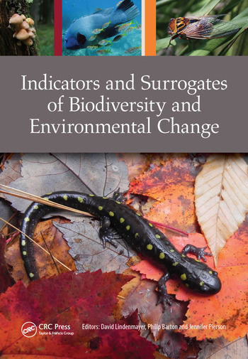 Indicators and Surrogates of Biodiversity and Environmental Change book cover