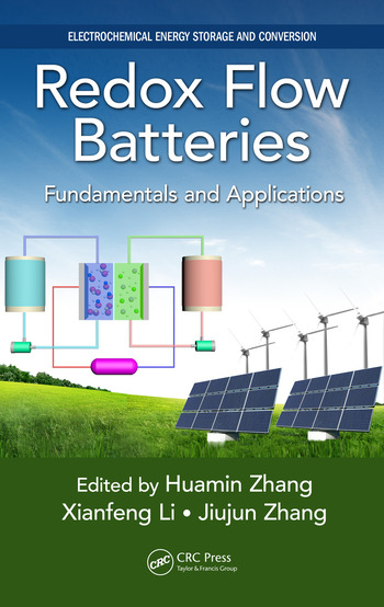 Redox Flow Batteries Fundamentals and Applications book cover